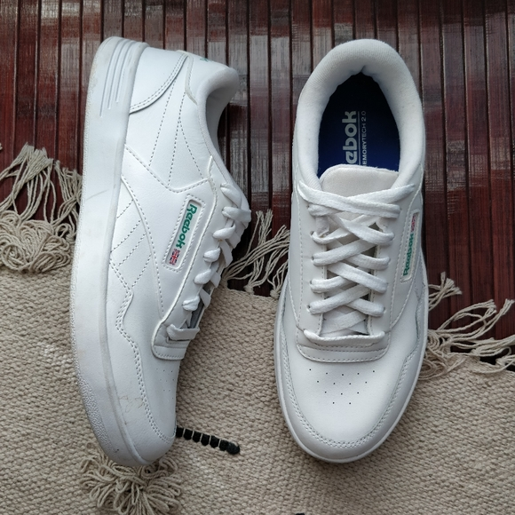Reebok Other - Reebok Classics White Leather Vintage Sneakers 8